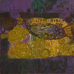304/09, 'Martuwarra' , 120x120 cm, Acrylic on canvas