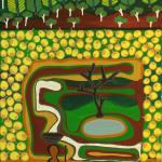 328/09, 'Wirnpa (Great Sandy Desert)', 90x120, Acrylic on canvas