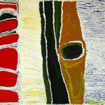 427/07, 'Wirrikarrijartu', 90x180cm, Acrylic on canvas