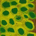 447/09, Yukiri, 45x60cm, Acrylic on canvas