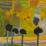 974/08, 'Parrkaparrka (Desert oak)',56x76 cm, Acrylic on paper