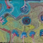 975/08, 'Ngarkangarra', 56x76 cm, Acrylic on paper