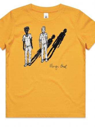 Kids T-shirt by Mervyn Street -Yellow