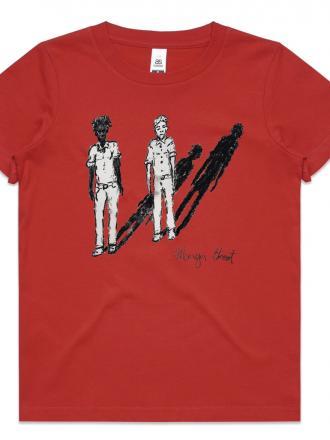 Kids T-shirt by Mervyn Street -Red
